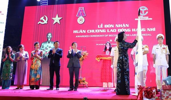 Tập đoàn C.T Group đón nhận Huân chương Lao động hạng Nhì