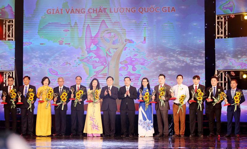 Vinh danh 77 doanh nghiệp đạt Giải thưởng Chất lượng quốc gia và Giải thưởng Chất lượng quốc tế châu Á - TBD